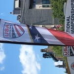 USAC Champs banner by Peloton Sports